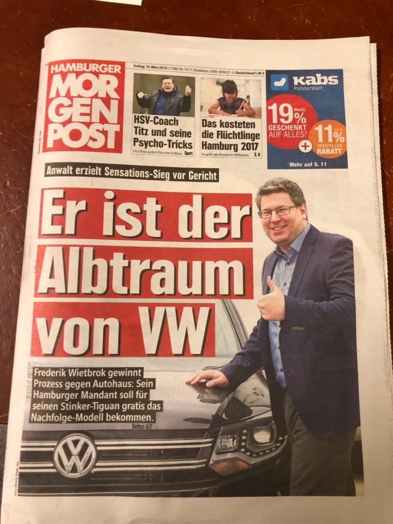 VW-Schaden